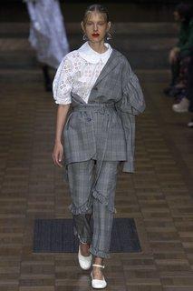 Хлопковые брюки Simone Rocha