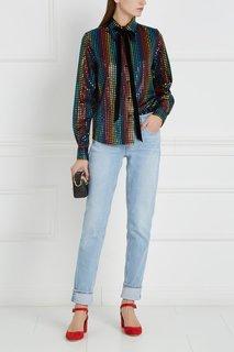 Шелковая блузка Marc Jacobs