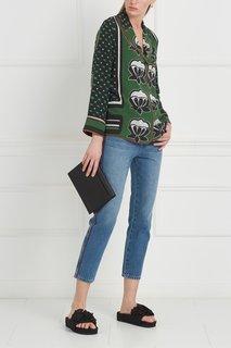Шелковая блузка Zuchherata Stella Jean