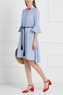 Хлопковое платье Ornitorinco Vivetta