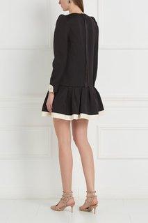 Платье с воланом Marc Jacobs