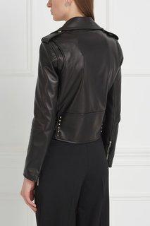 Кожаная куртка Valentino