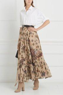 Хлопковая юбка Valentino