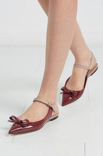 Туфли из лакированной кожи RED Valentino
