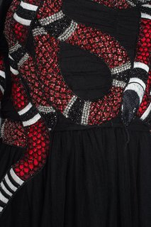 Платье со стеклярусом Gucci
