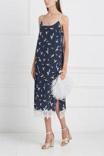 Шелковое платье «Птички Esve