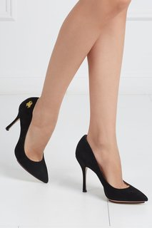 Замшевые туфли Bacall Charlotte Olympia