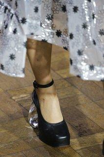 Кожаные туфли Simone Rocha