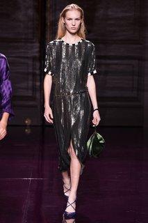 Платье с пайетками Nina Ricci