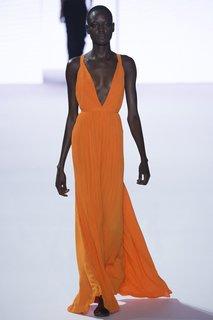 Плиссированное платье в пол Haider Ackermann