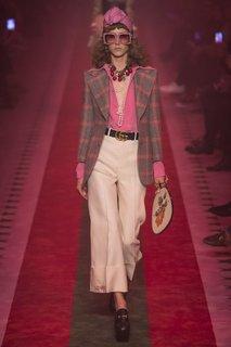 Однотонная блузка Gucci