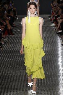 Однотонное платье No.21