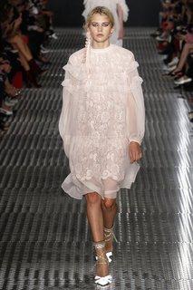 Платье с воланами No.21