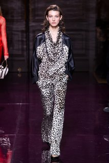 Шелковые брюки Nina Ricci