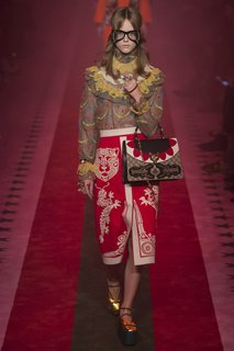 Юбка с принтом Gucci