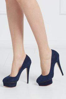 Замшевые туфли Dolly Charlotte Olympia