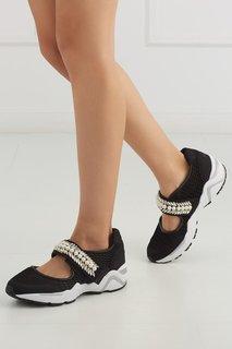 Кроссовки с кристаллами Suecomma Bonnie