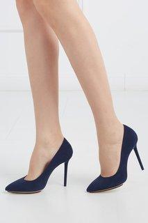 Замшевые туфли Monroe Charlotte Olympia