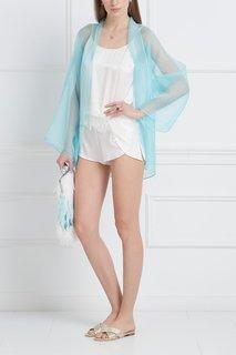 Шелковые шорты с кружевом Esve