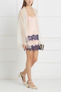 Шелковая юбка с кружевом Esve