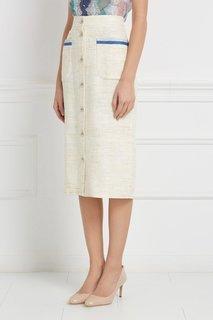 Шелковая юбка Laroom