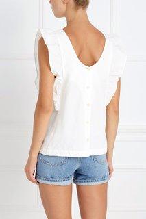Хлопковая блузка Сavall MiH Jeans