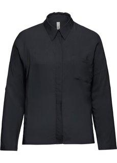 Прямая блузка (белый) Bonprix