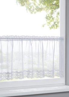 Кухонная штора Синди, кулиска (белый) Bonprix