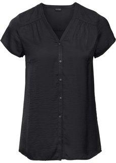 Блузка с коротким рукавом (коралловый) Bonprix