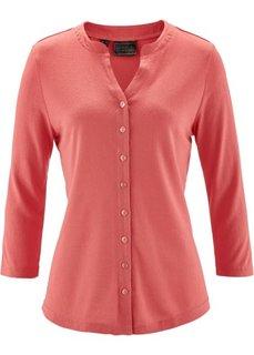 Шелковая блузка (индиго) Bonprix