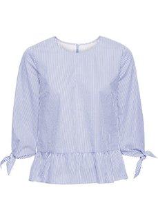 Блузка (белый/цвет фуксии в полоску) Bonprix
