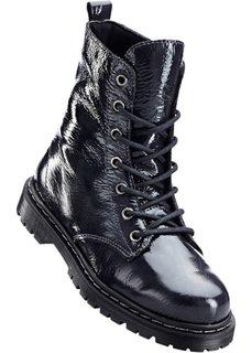 Лакированные ботинки (темно-серый) Bonprix