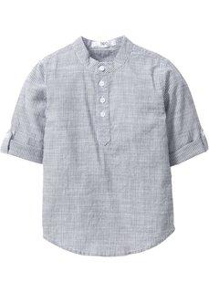 Рубашка (нежно-голубой/белый в полоску) Bonprix