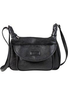 Дамская сумка на ремне через плечо (бежевый) Bonprix