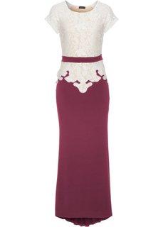 Вечернее платье (черный/кремовый) Bonprix