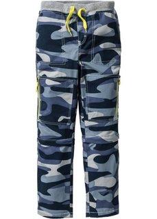 Прочные быстросохнущие брюки (темно-синий с узором) Bonprix