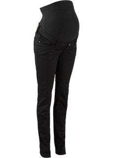 Для будущих мам: джинсы Skinny (черный) Bonprix