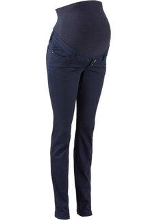 Для будущих мам: узкие брюки (темно-синий) Bonprix