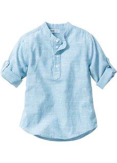 Рубашка (темно-синий/белый в полоску) Bonprix