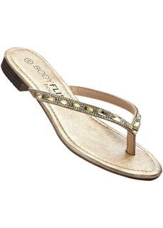 Пантолеты с перемычкой для большого пальца (серебристый) Bonprix