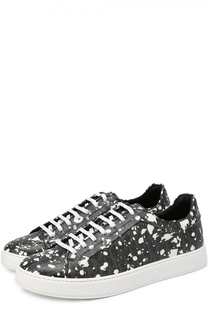 Текстильные кеды с принтом Speckle Dior