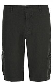 Льняные шорты с накладными карманами Transit