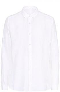 Льняная рубашка с воротником кент Transit