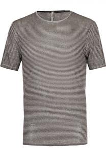 Льняная футболка с круглым вырезом Transit