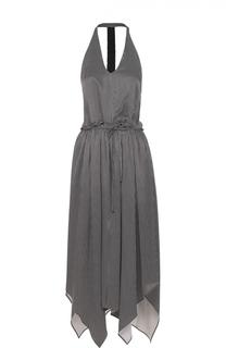Платье асимметричного кроя с открытой спиной Rachel Comey