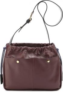 Сумка Swing с внешними карманами Marni