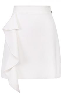 Мини-юбка с оборкой MSGM