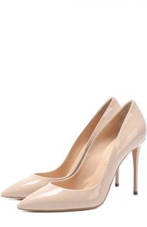 Лаковые туфли на шпильке Casadei