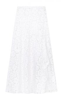 Кружевная юбка-макси Valentino