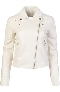 Кожаная куртка Yves Salomon